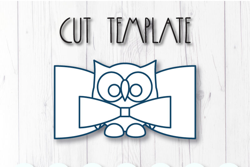 Owl Hair Bow Template Svg Dxf Pdf With Diy Tutorial By Artiteki