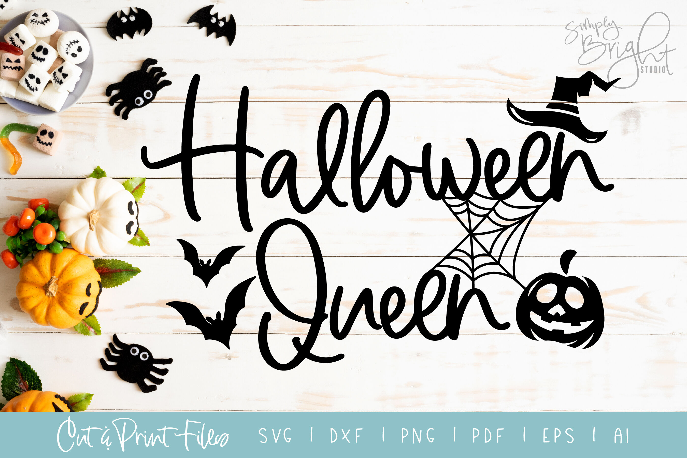 View Happy Halloween – Dxf/Svg/Png/Pdf Cut & Print Files Crafter Files