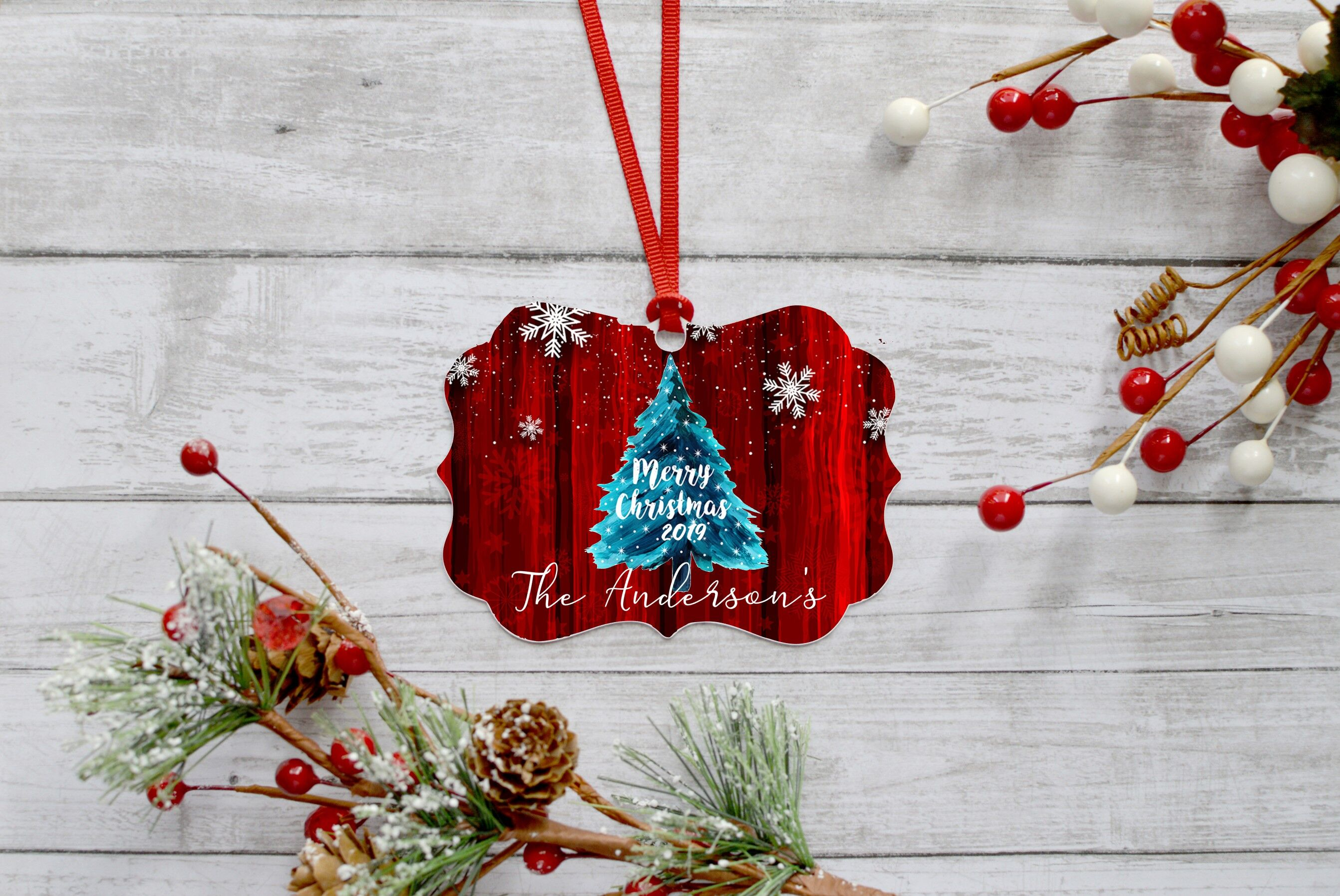 Bundle Of 9 Christmas Ornament Designs Perfect For Sublimation By