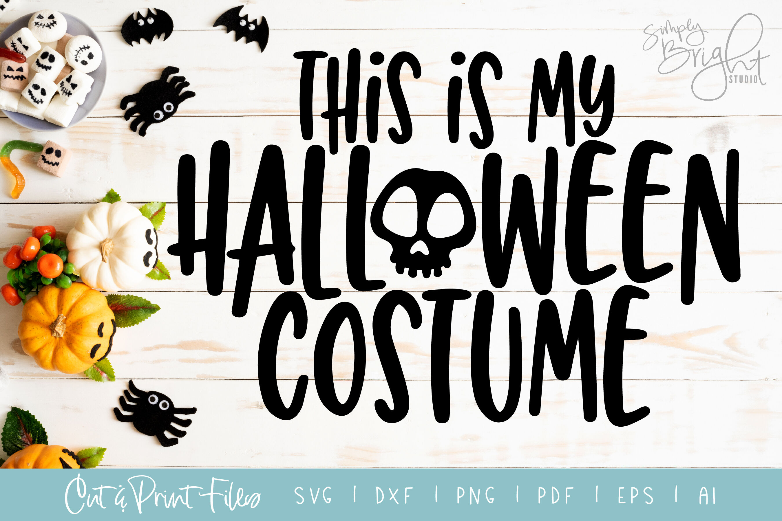 Halloween Costume Dxf Svg Png Pdf Cut Print Files By Simply