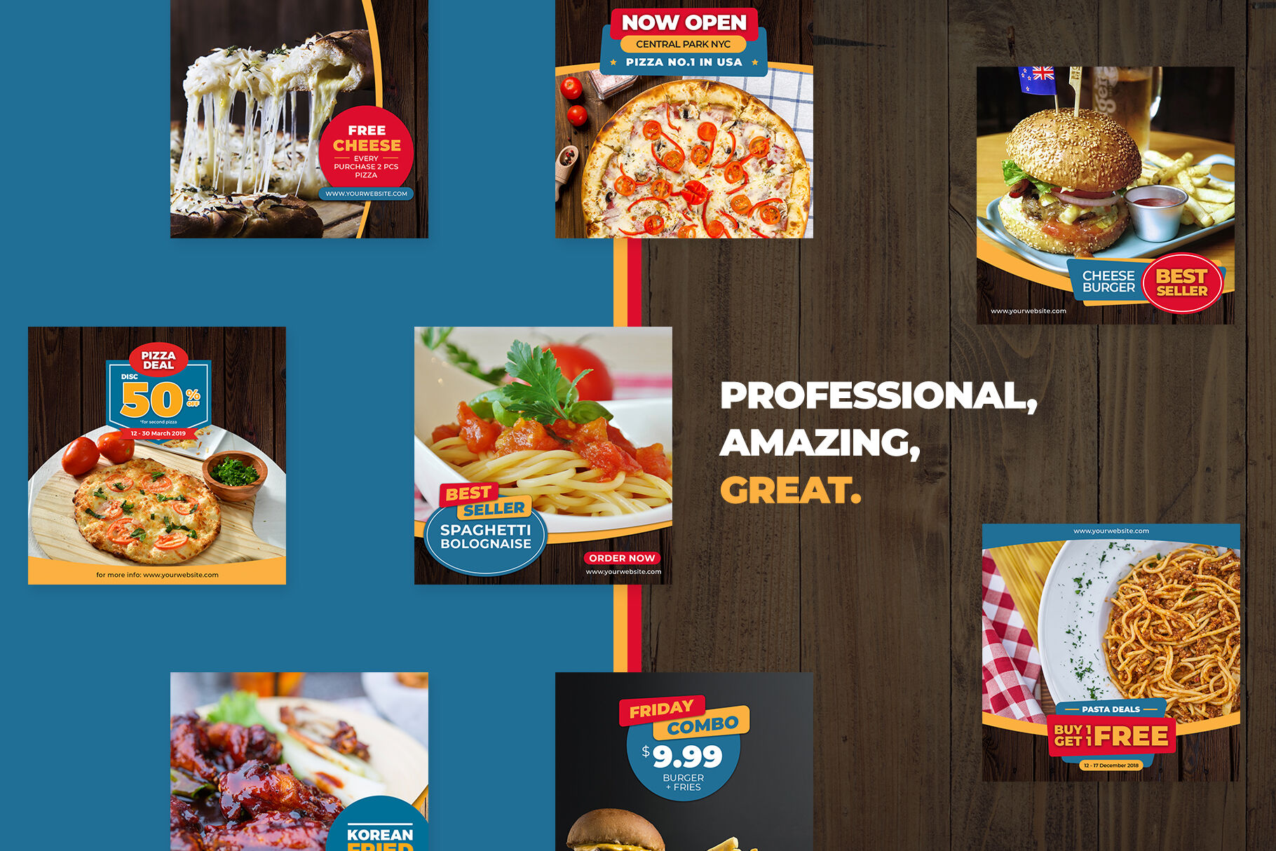 Download Restaurant Menu Card Mockup Psd Yellowimages