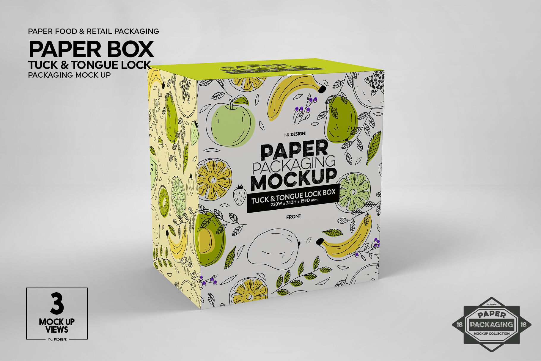 Download Paper Tube Mockup Front View Yellowimages
