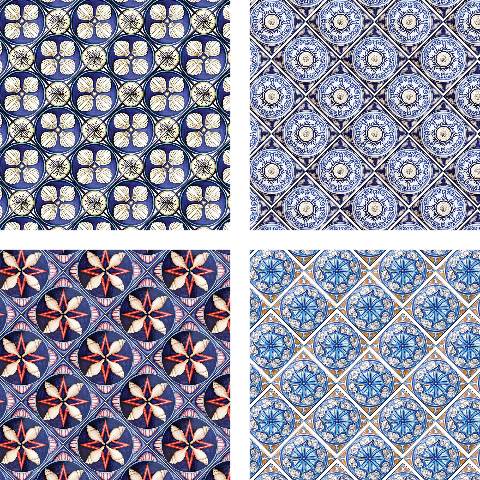 italian tile patterns by north sea