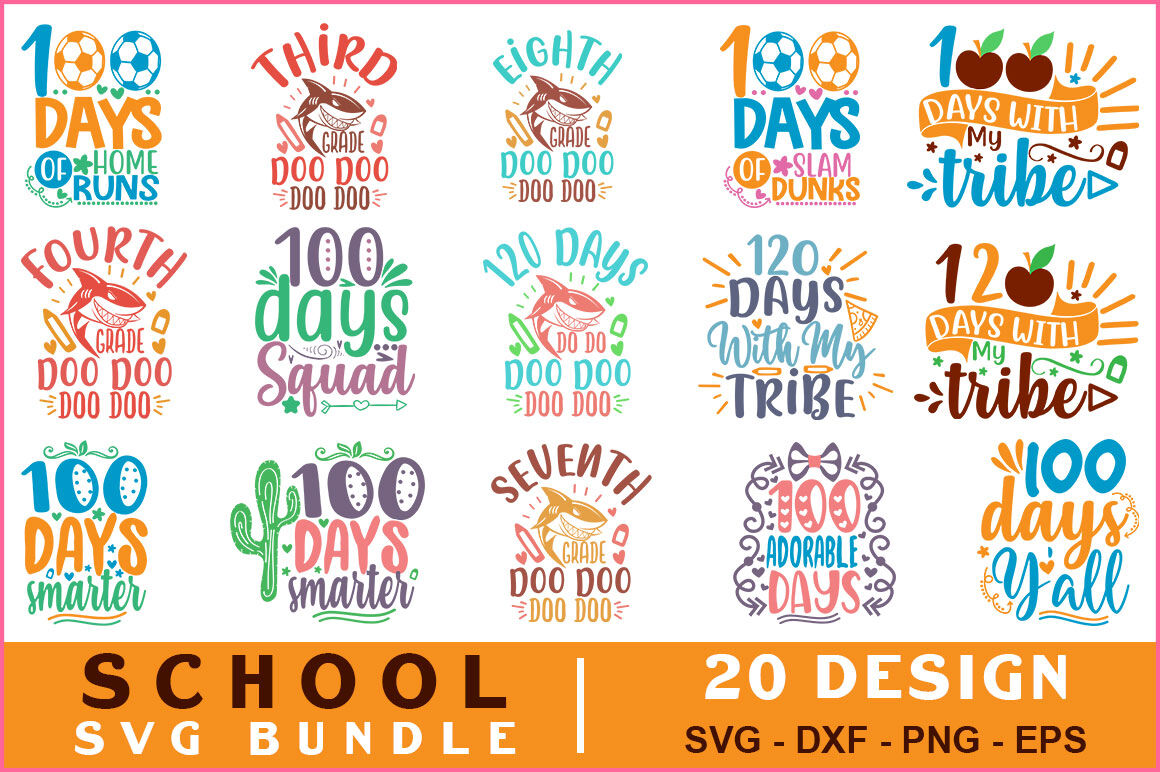 School Quotes Svg Bundle Vol 10 By Teewinkle Thehungryjpeg Com