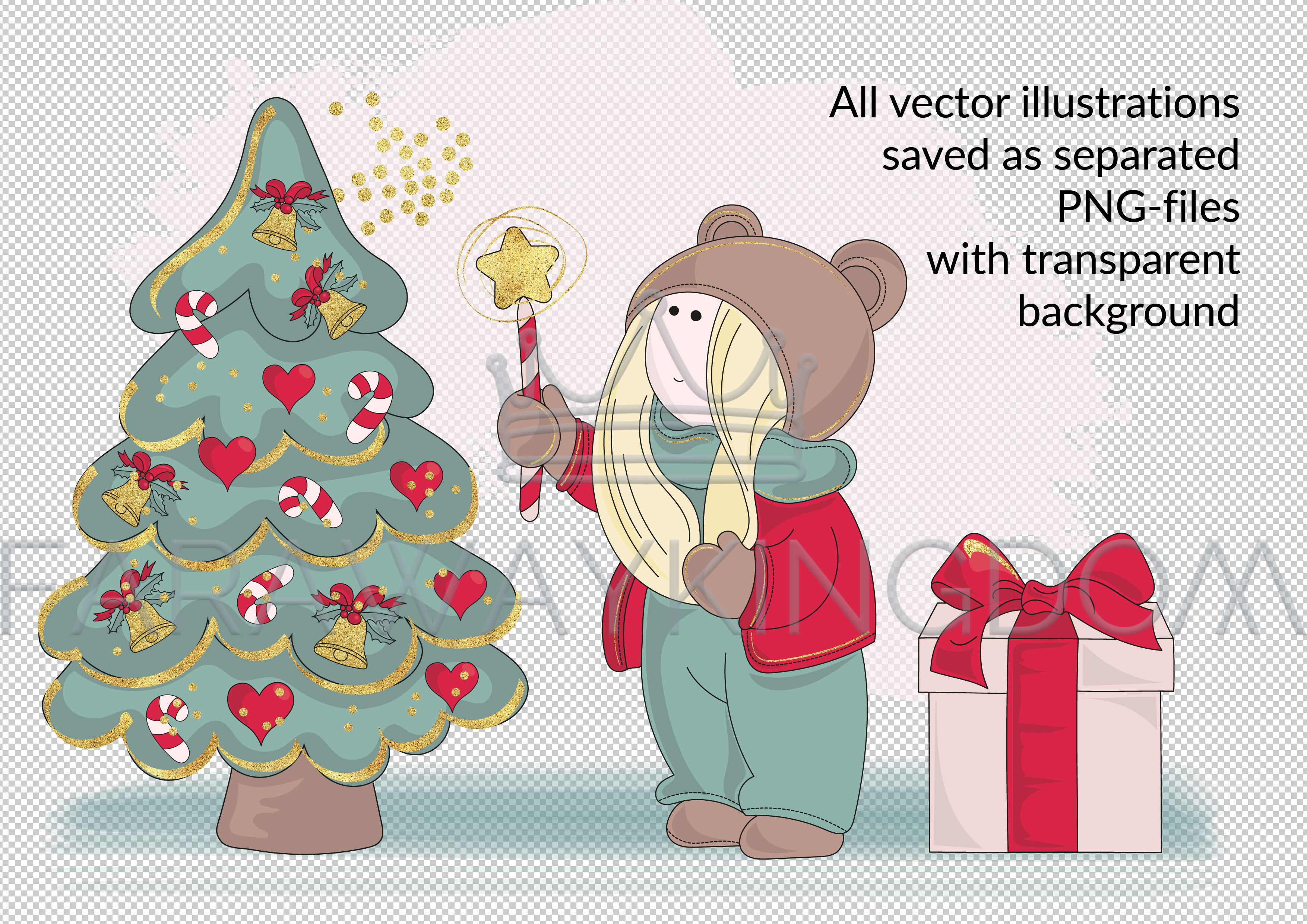 Best Wishes Seamless Pattern Vector Illustration Animation By
