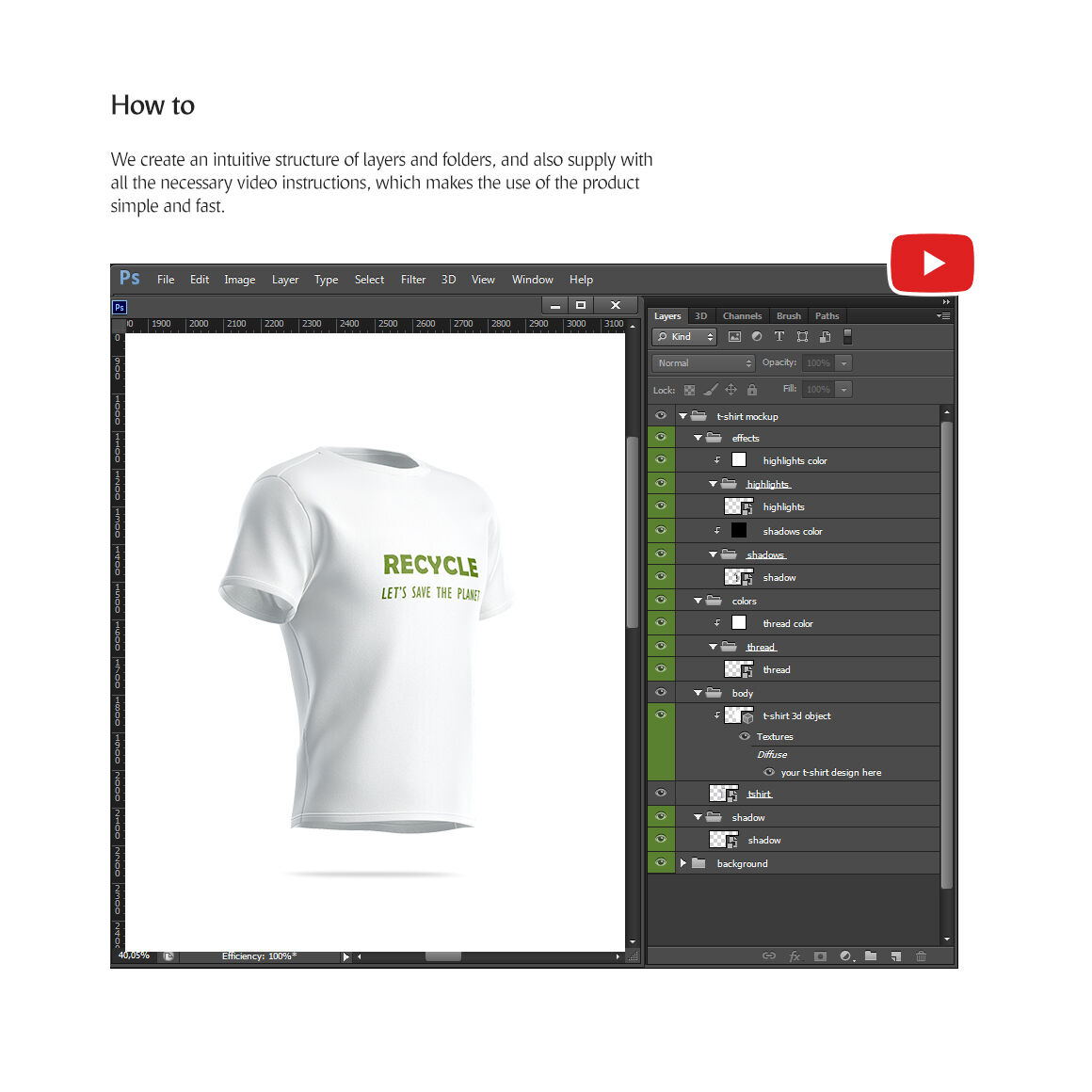 Download 3d Shirt Mockup Psd Yellowimages