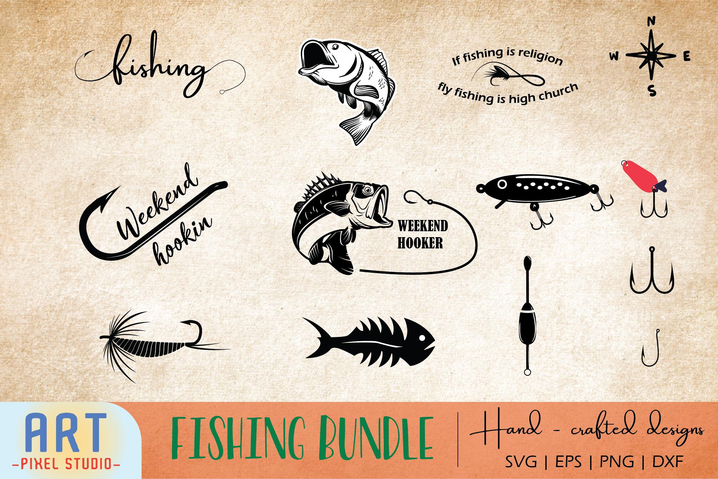 Fishing Svg Fishing Cut File Fisherman By Art Pixel Studio