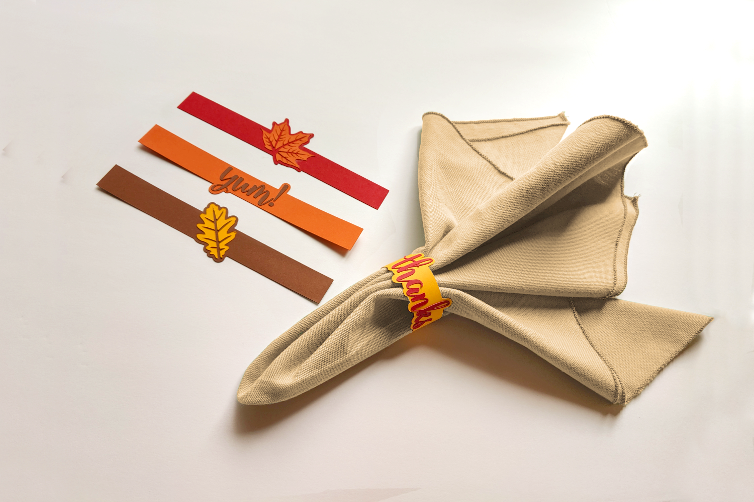 Thanksgiving Napkin Ring Set Svg Png Dxf By Designed By Geeks Thehungryjpeg Com