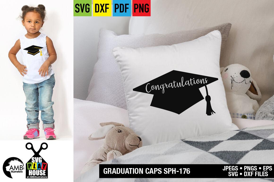 Graduation Cap Svg Grad Clipart Sph 176 By Ambillustrations