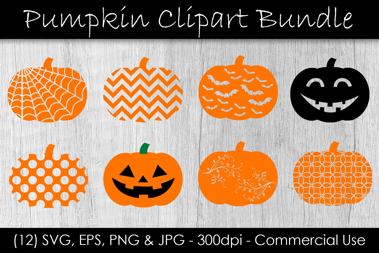 Pumpkin Svg Bundle Pumpkin Clip Art Halloween Pumpkin Cut