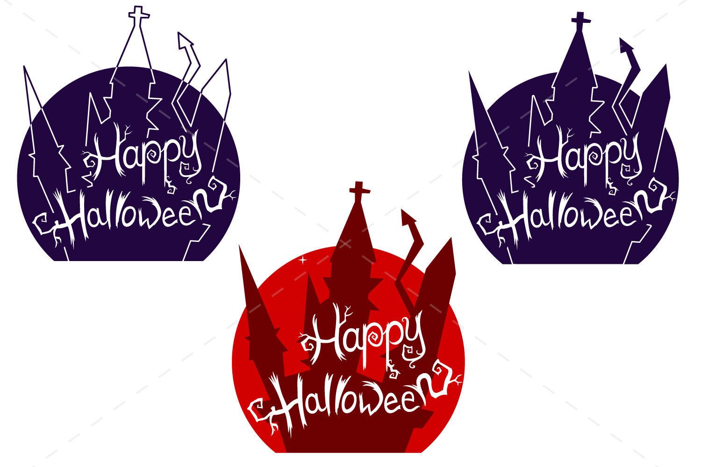 Happy Halloween Vector Svg Files By Tatiana Cociorva Designs