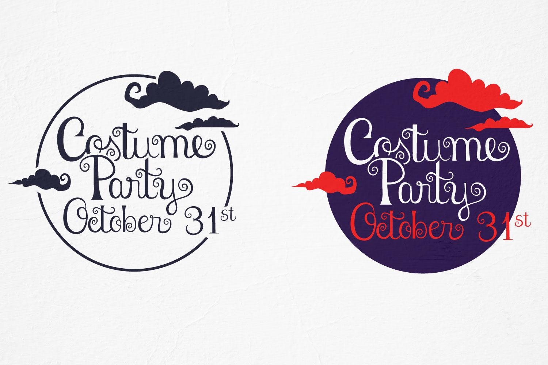 Costume Party Halloween Vector Svg Files By Tatiana Cociorva