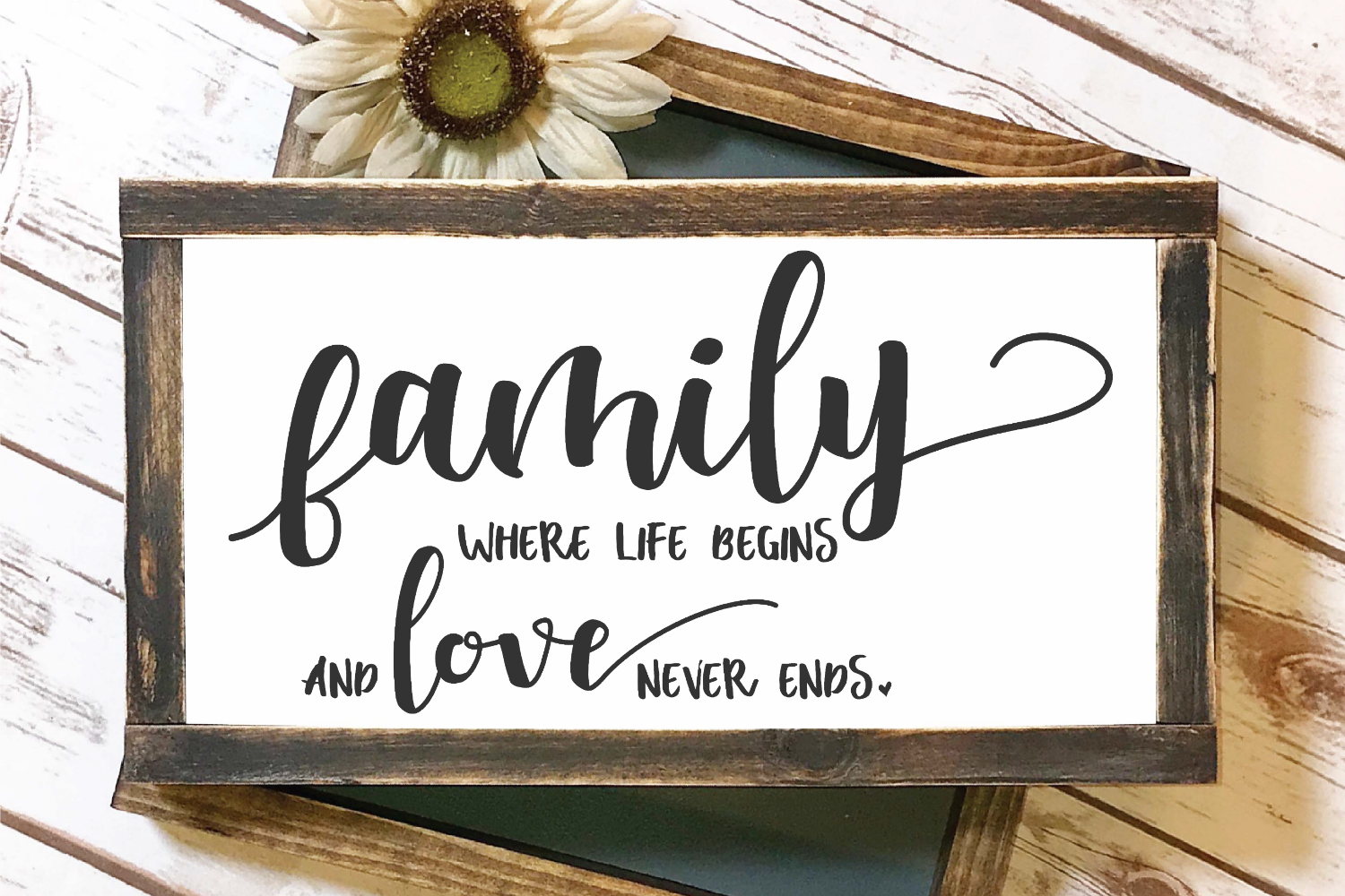 Download Family Where Life Begins And Love Never Ends SVG By Morgan ...