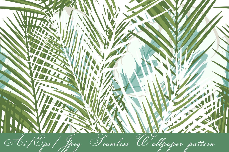 Tropical Vector Seamless Pattern By Fleurart Thehungryjpeg Com