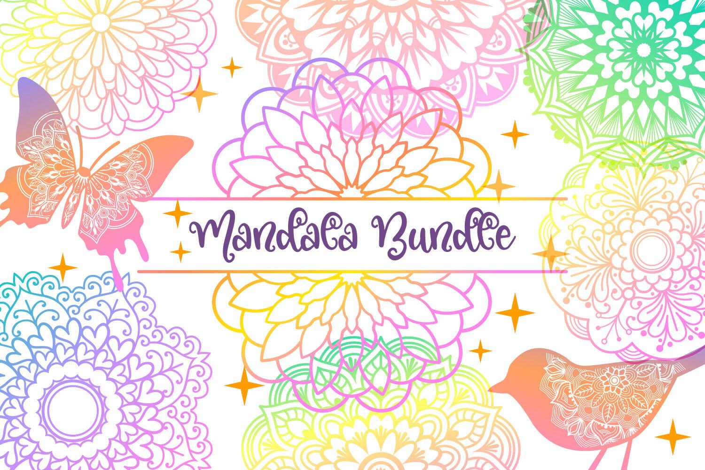 Mandala Bundle 40 Svg Cut Files By Tatiana Cociorva Designs