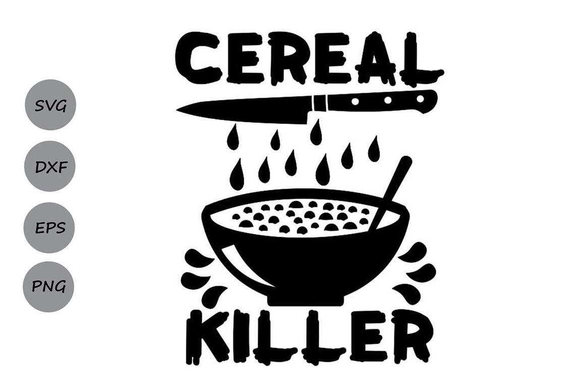 Cereal Killer Svg Halloween Svg Spooky Svg Kids Halloween Svg