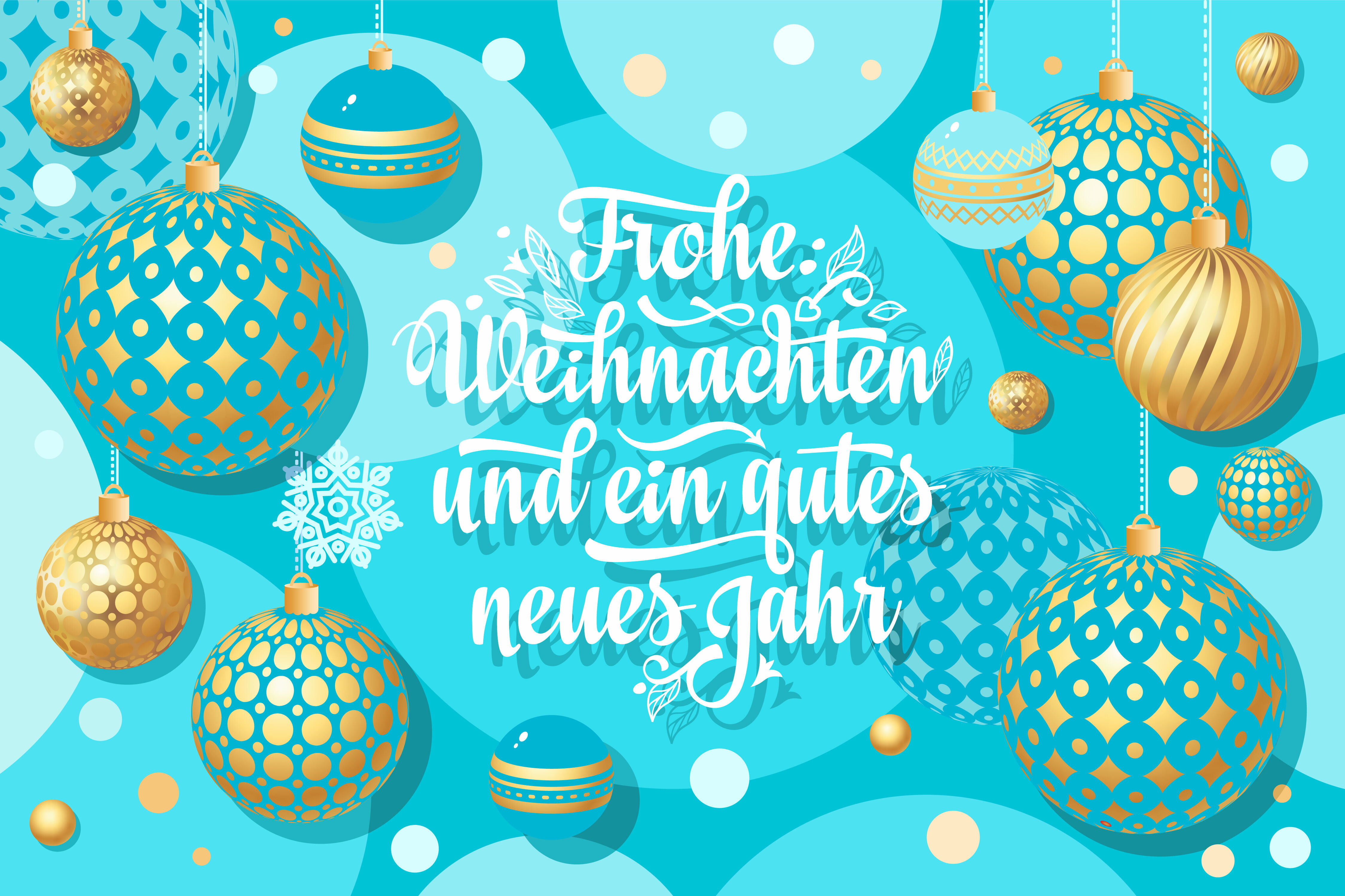 Frohe Weihnachten Congratulations In German Language Christmas