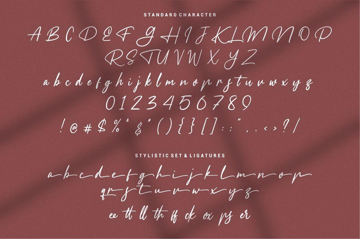 Meranie Signature Font By Garisman Studio Thehungryjpeg Com