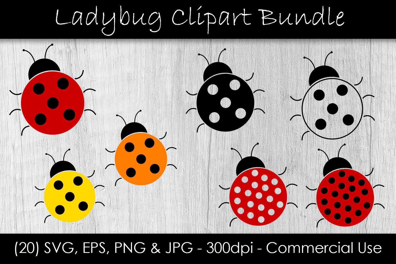 Ladybug Svg Bundle Ladybug Vector Clip Art By Gjsart