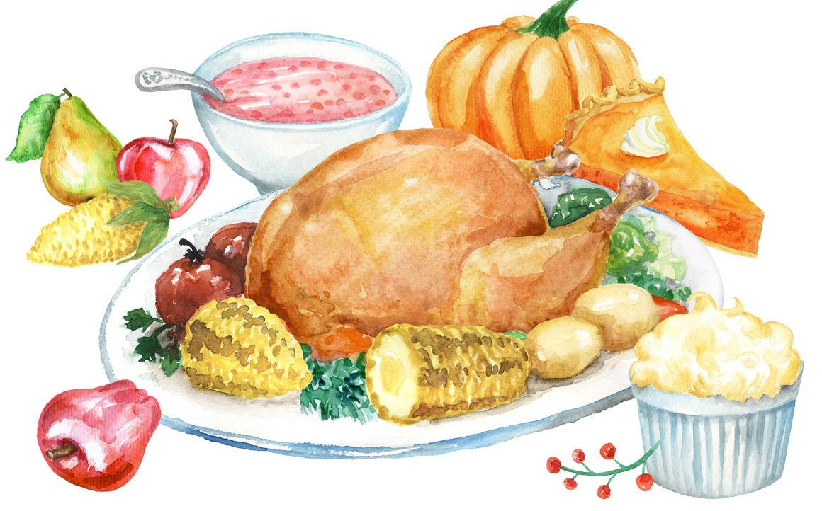 Thanksgiving Day Cliparts By Dorakatona Thehungryjpeg Com