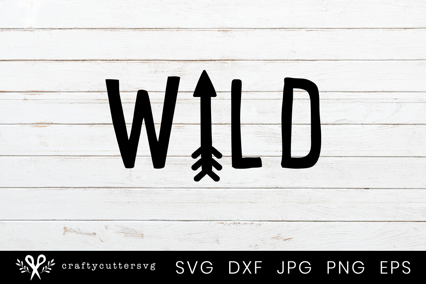 Wild Svg Cut File Arrow Clipart By Crafty Cutter Svg