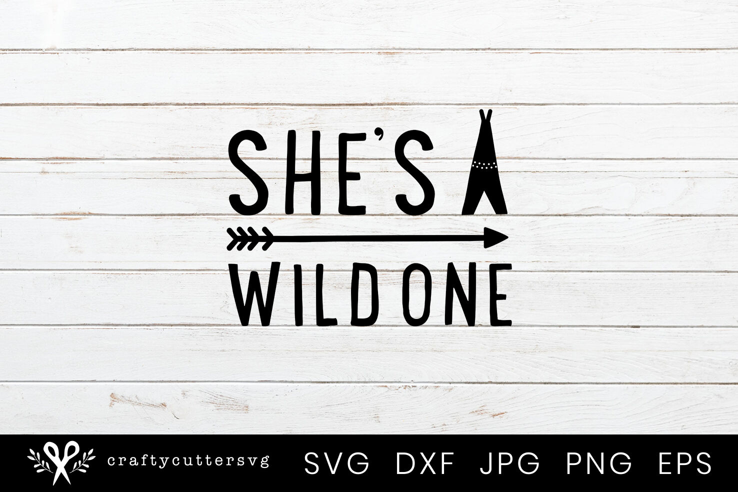 She S A Wild One Svg Cut File Arrow Teepee Clipart By Crafty