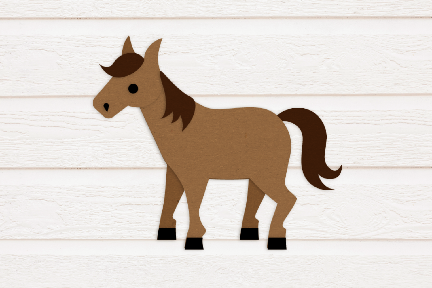 Horse With Saddle Svg Png Dxf By Risa Rocks It