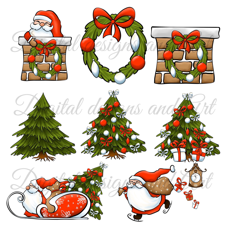 Waiting For Santa By Digitaldesignsandart Thehungryjpeg Com