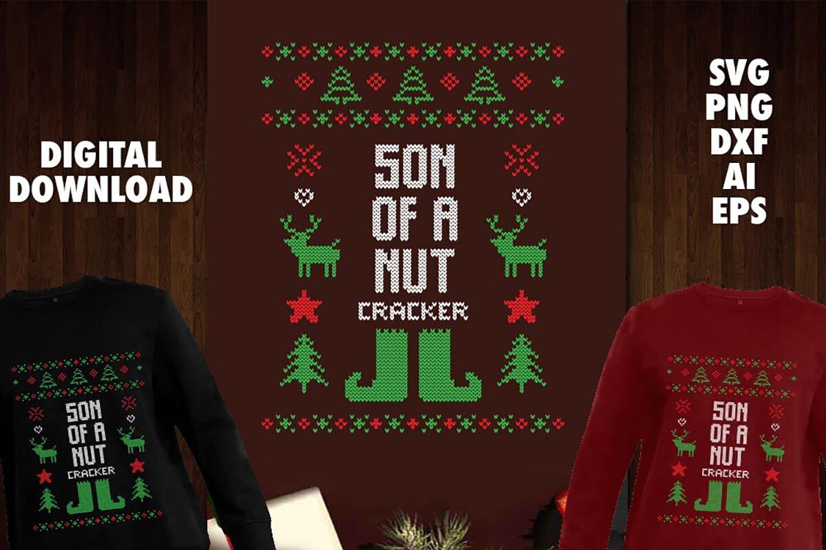 Son Of A Nut Cracker Transparent Svg By Cuttingsvg Thehungryjpeg Com
