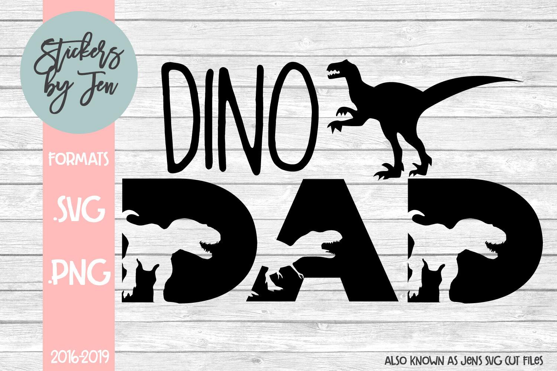Dino Dad Svg By Jens Svg Cut Files Thehungryjpeg Com