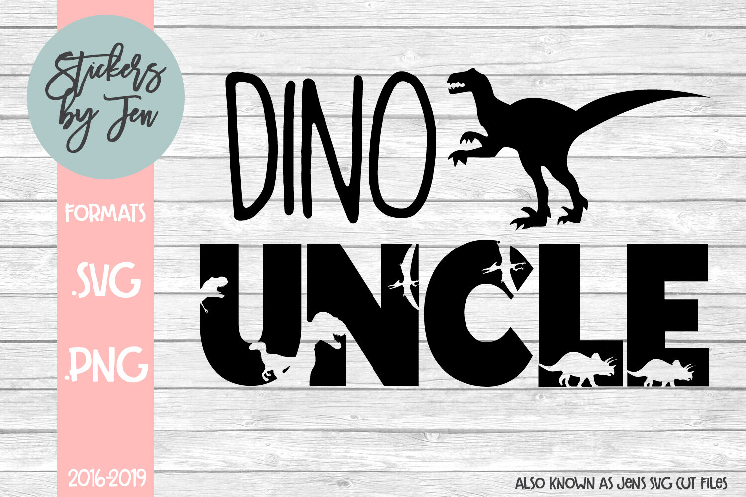 Dino Uncle Svg By Jens Svg Cut Files Thehungryjpeg Com
