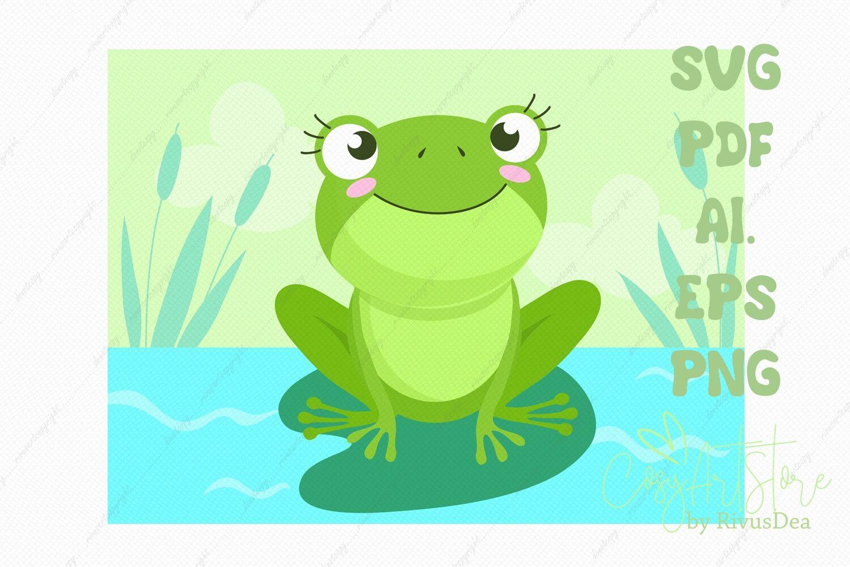 Frog Svg Background Download River Background Png Illustration