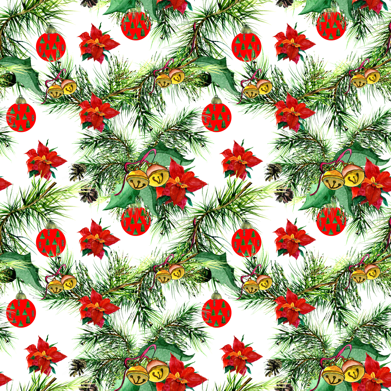 Seamless Christmas Pattern By Rich Stoker Thehungryjpeg Com