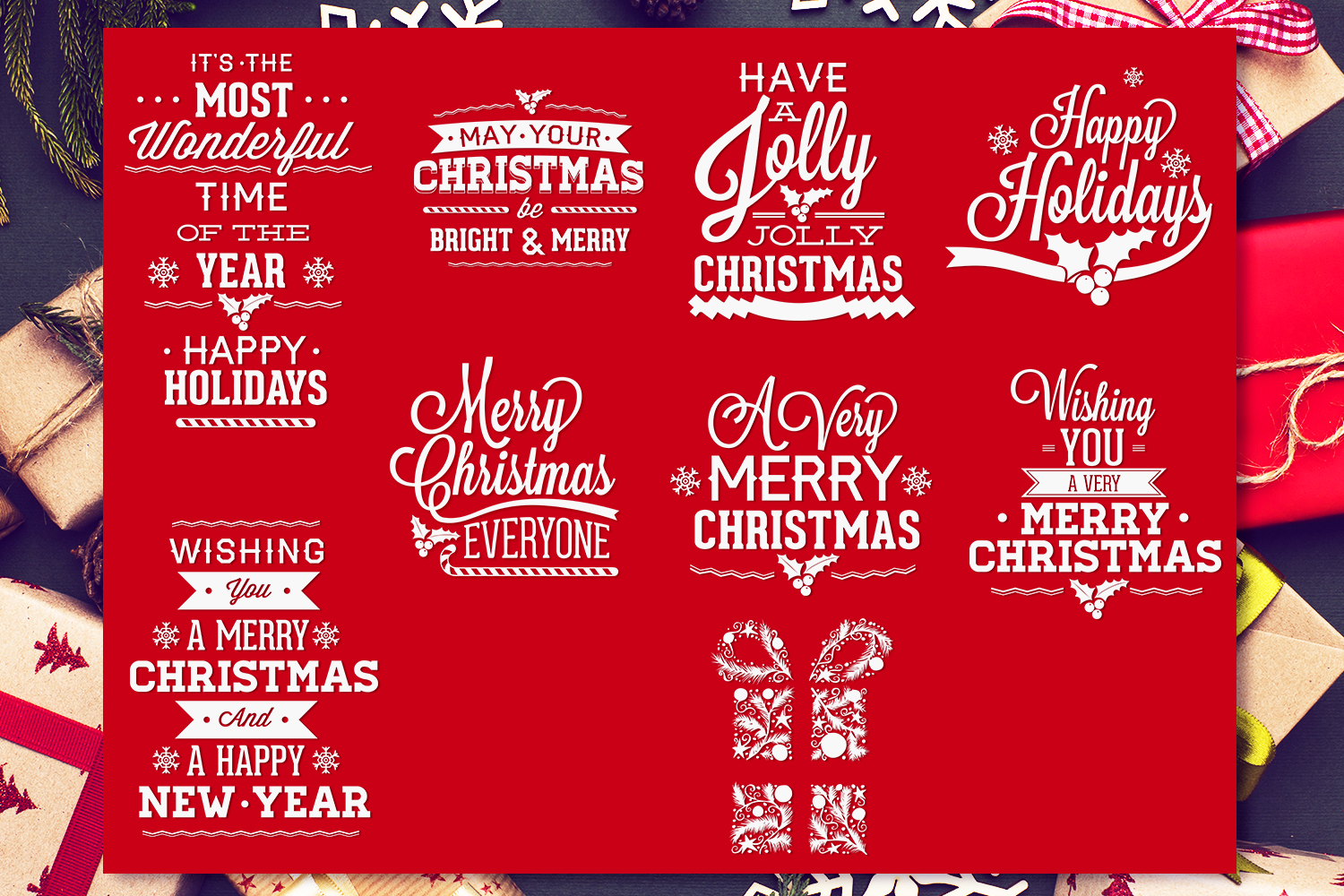 Christmas Svg Quotes Pack By Craft N Cuts Thehungryjpeg Com
