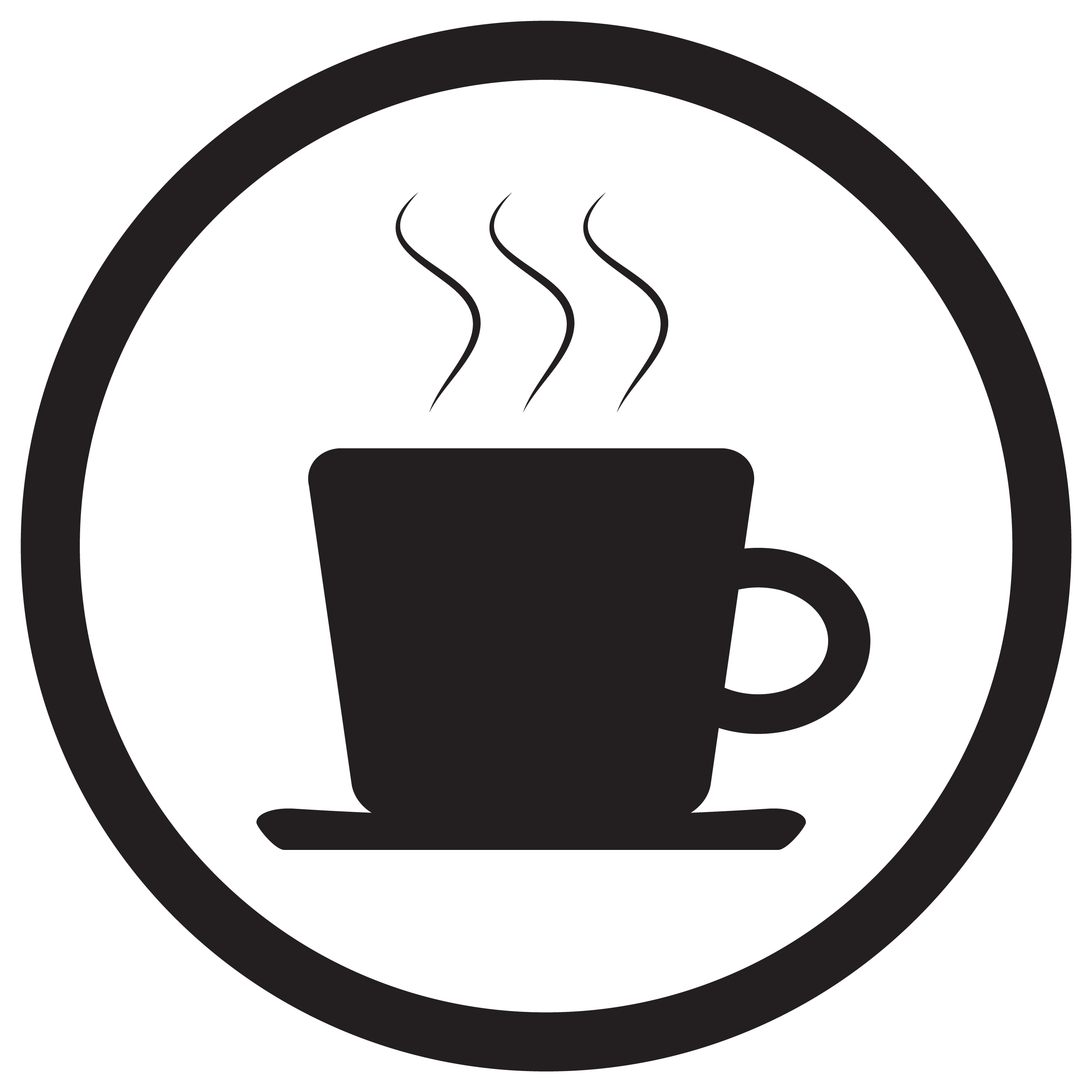 Tea And Coffee Cup Icon Black White By 09910190 Thehungryjpeg Com