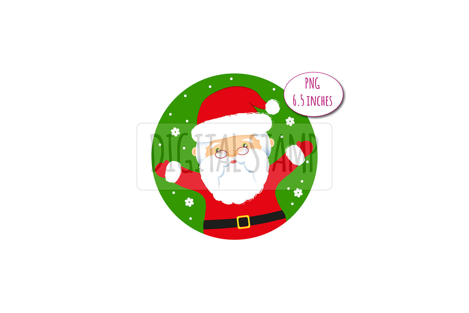 Santa Claus And Deer Xmas Clipart Png By Bunart Thehungryjpeg Com