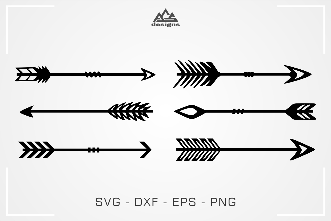 Arrows Svg Design By Agsdesign Thehungryjpeg Com