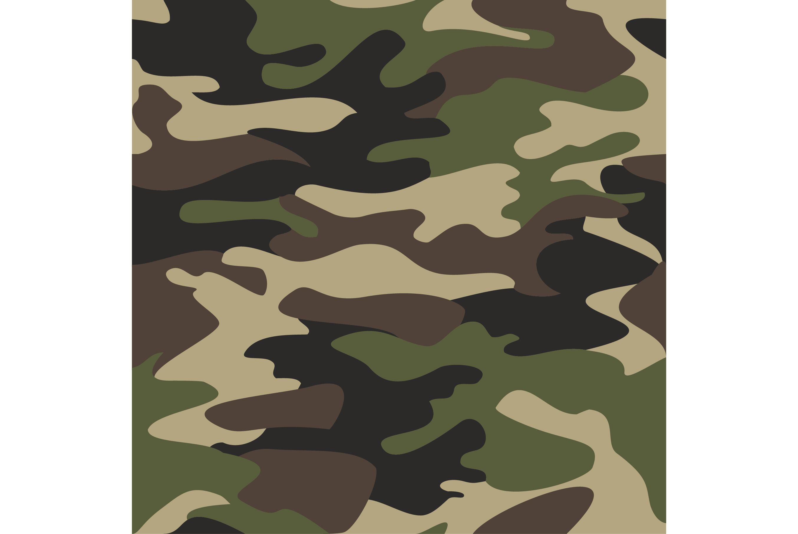 Camouflage pattern background seamless vector illustration ...