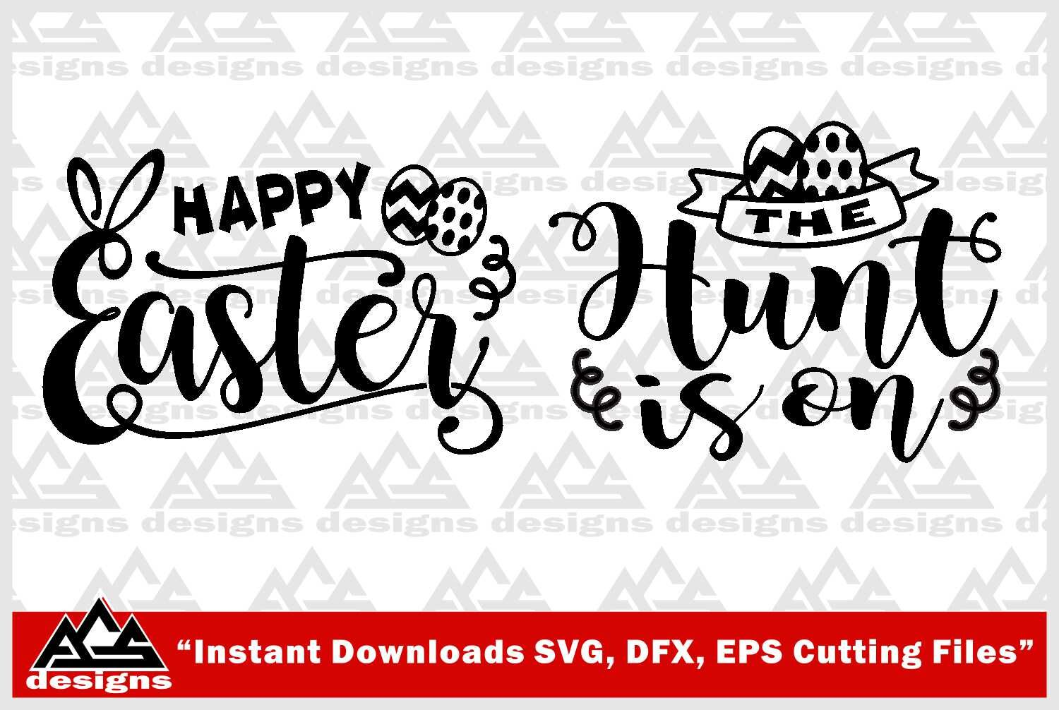 Happy Easter Svg Design By Agsdesign Thehungryjpeg Com