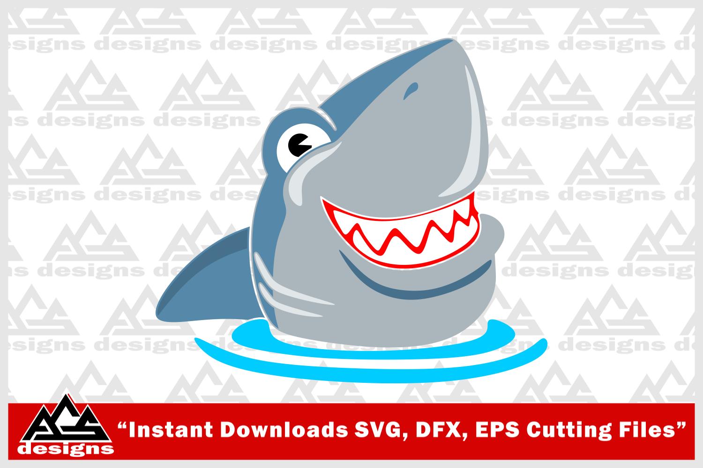 Cute Shark Svg Design By Agsdesign Thehungryjpeg Com