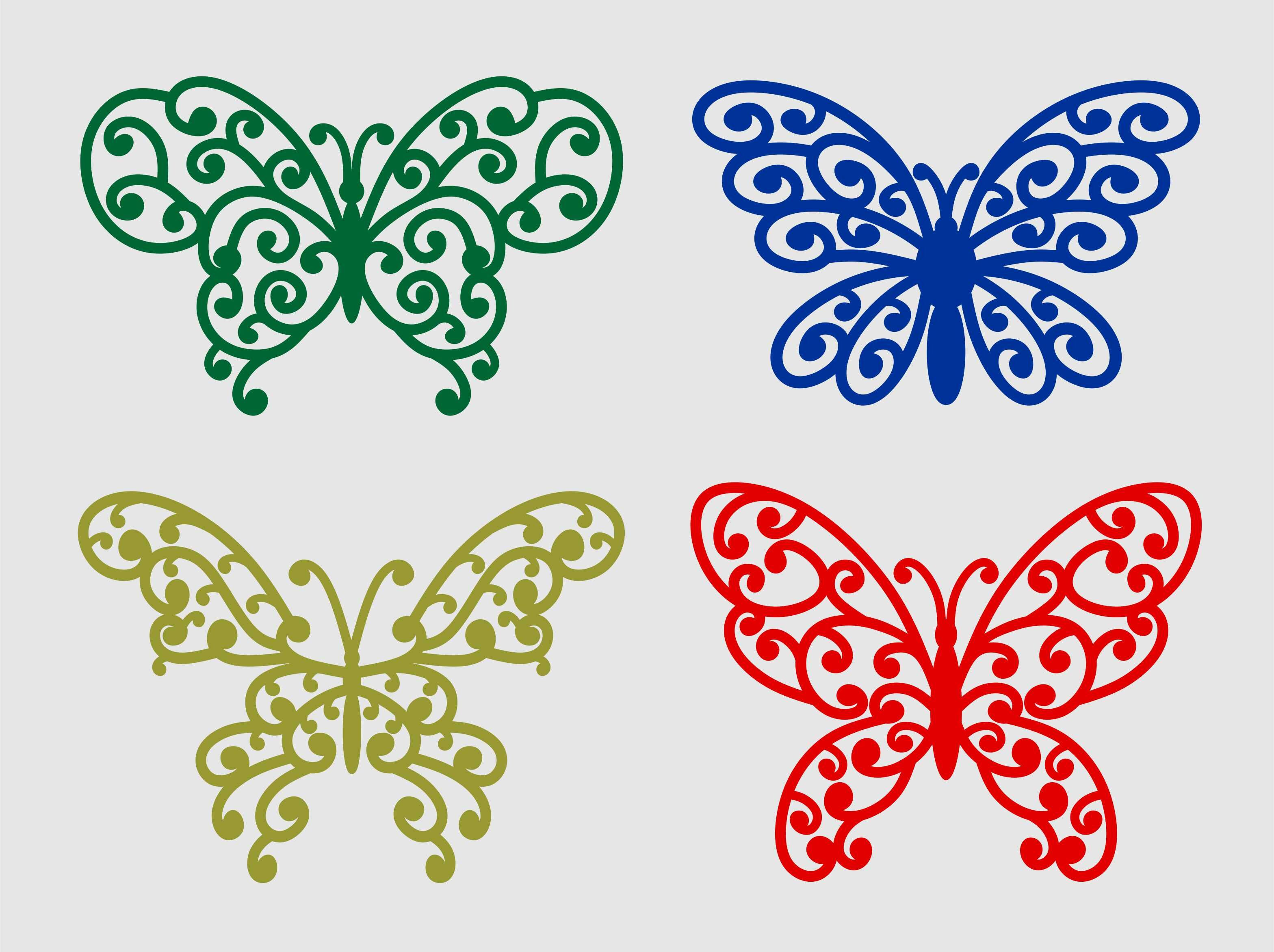 Butterfly Floral Svg Design By Agsdesign Thehungryjpeg Com