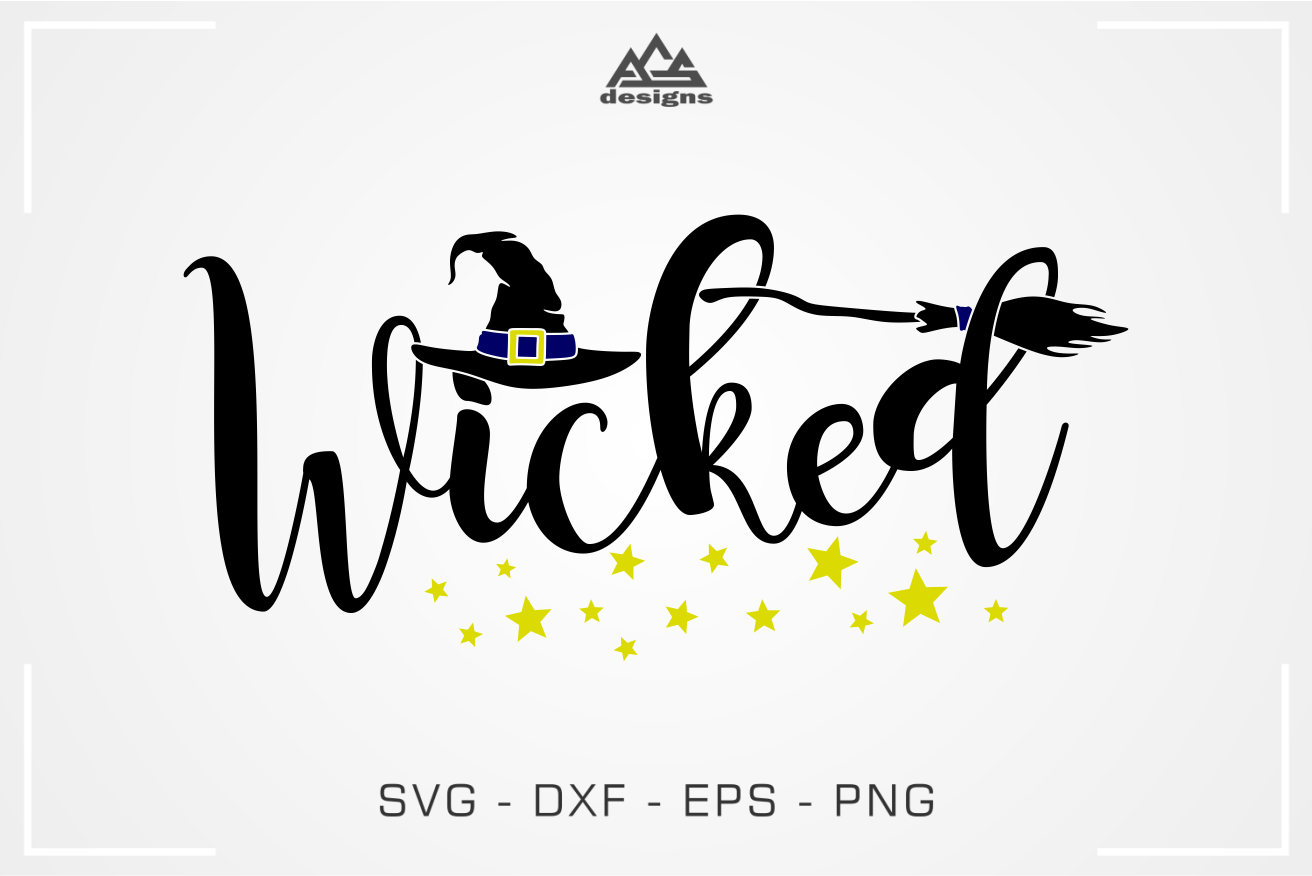 Wicked Halloween Witch Svg Design By Agsdesign Thehungryjpeg Com