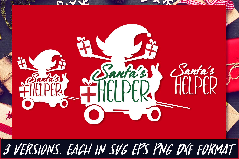 Santa S Helper Svg Cut File By Craft N Cuts Thehungryjpeg Com