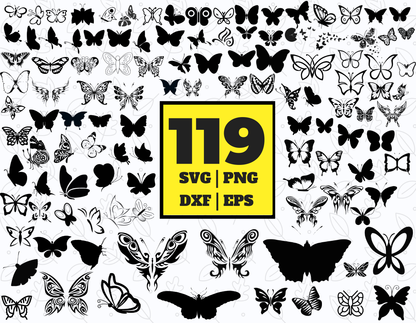 89 Butterfly Svg Bundle Butterfly Clipart Butterfly Vector By