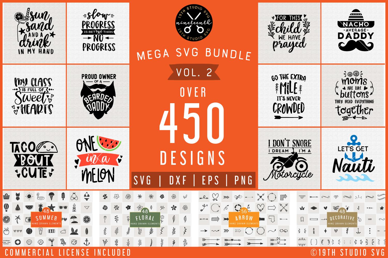Svg Bundle Mega Svg Bundle Vol 3 By 19th Studio Thehungryjpeg Com