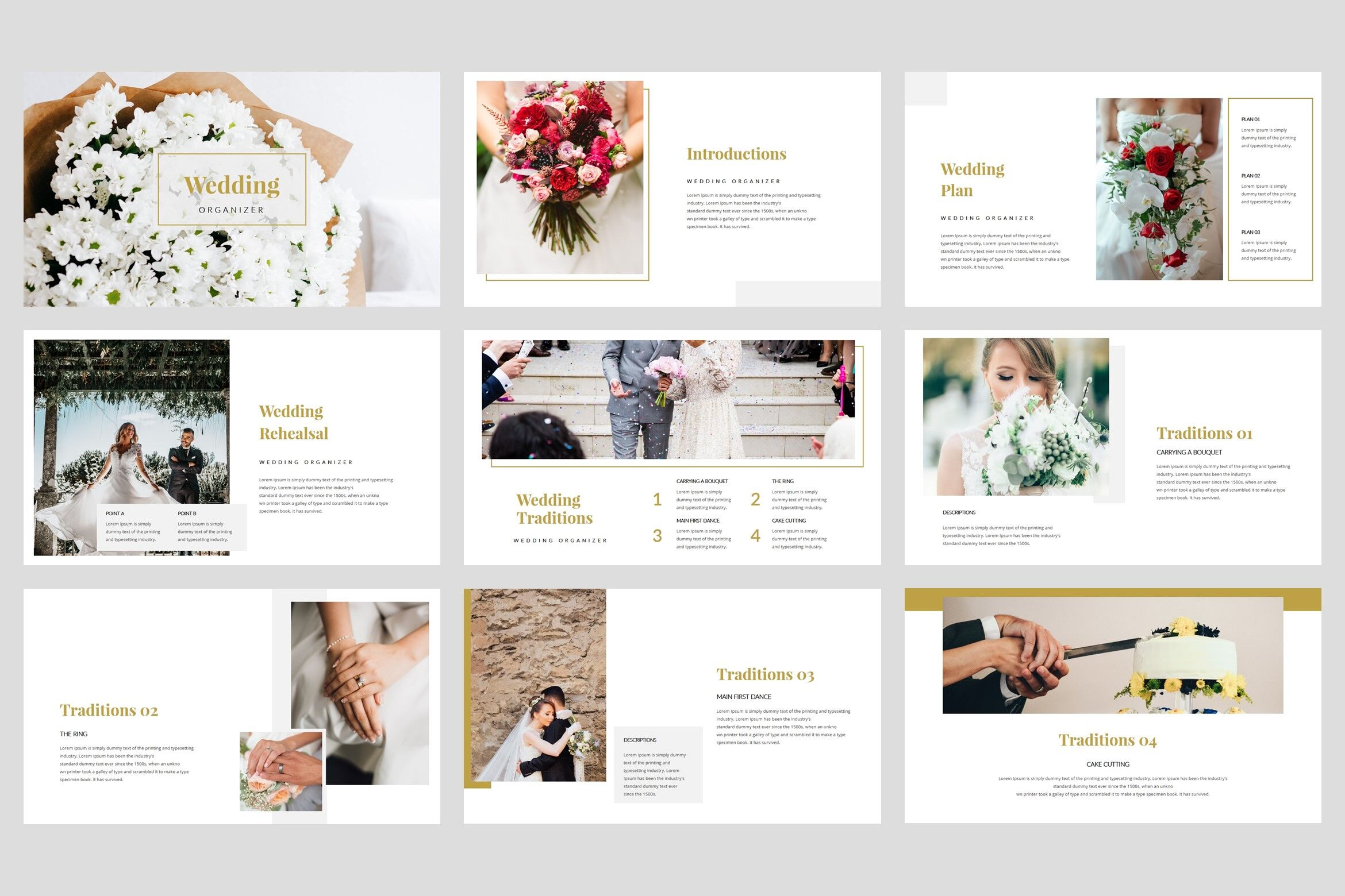 Moment Wedding Powerpoint Template By Stringlabs Thehungryjpeg Com