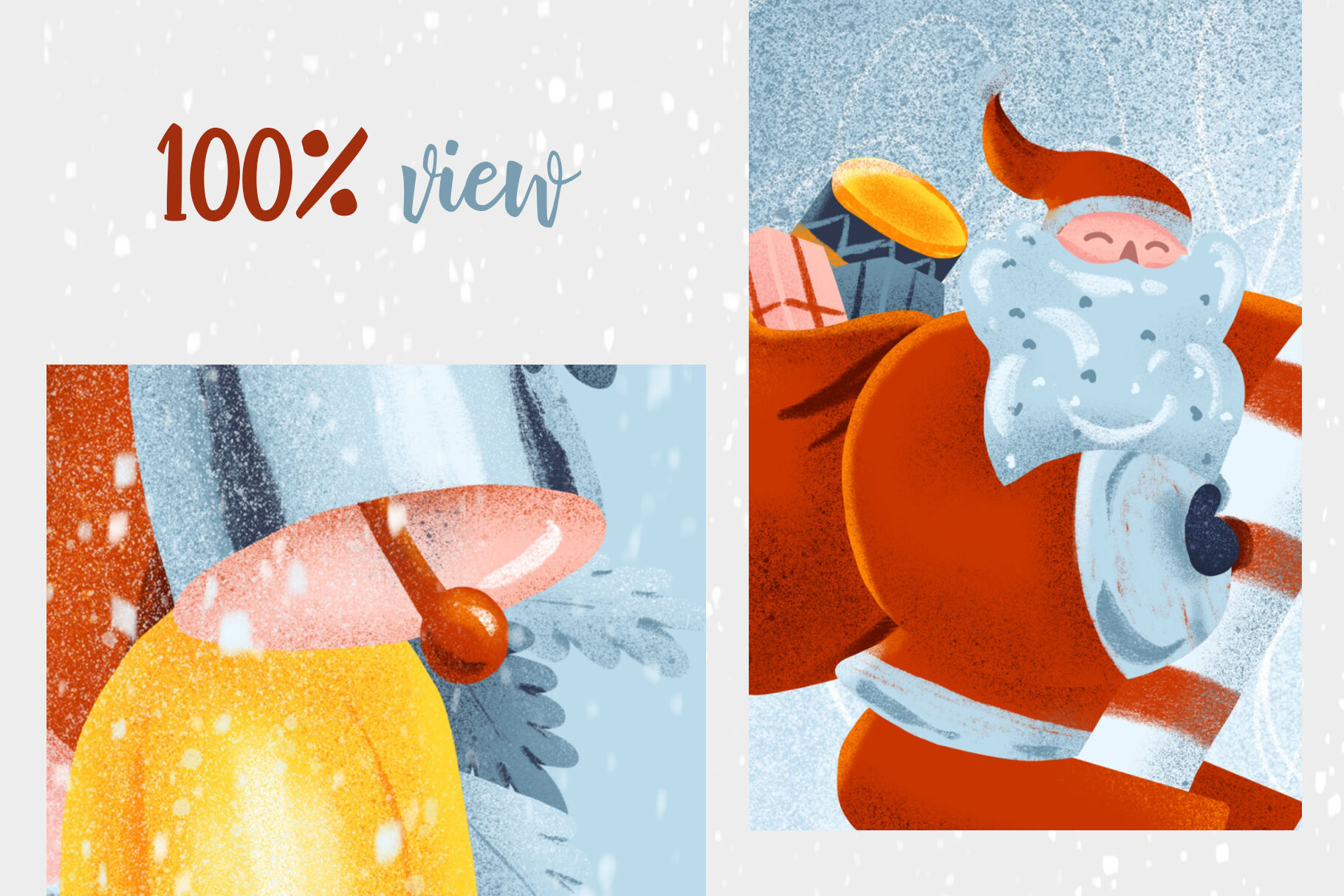 Advent Calendar Printable Set By Poster Lobster Thehungryjpeg Com