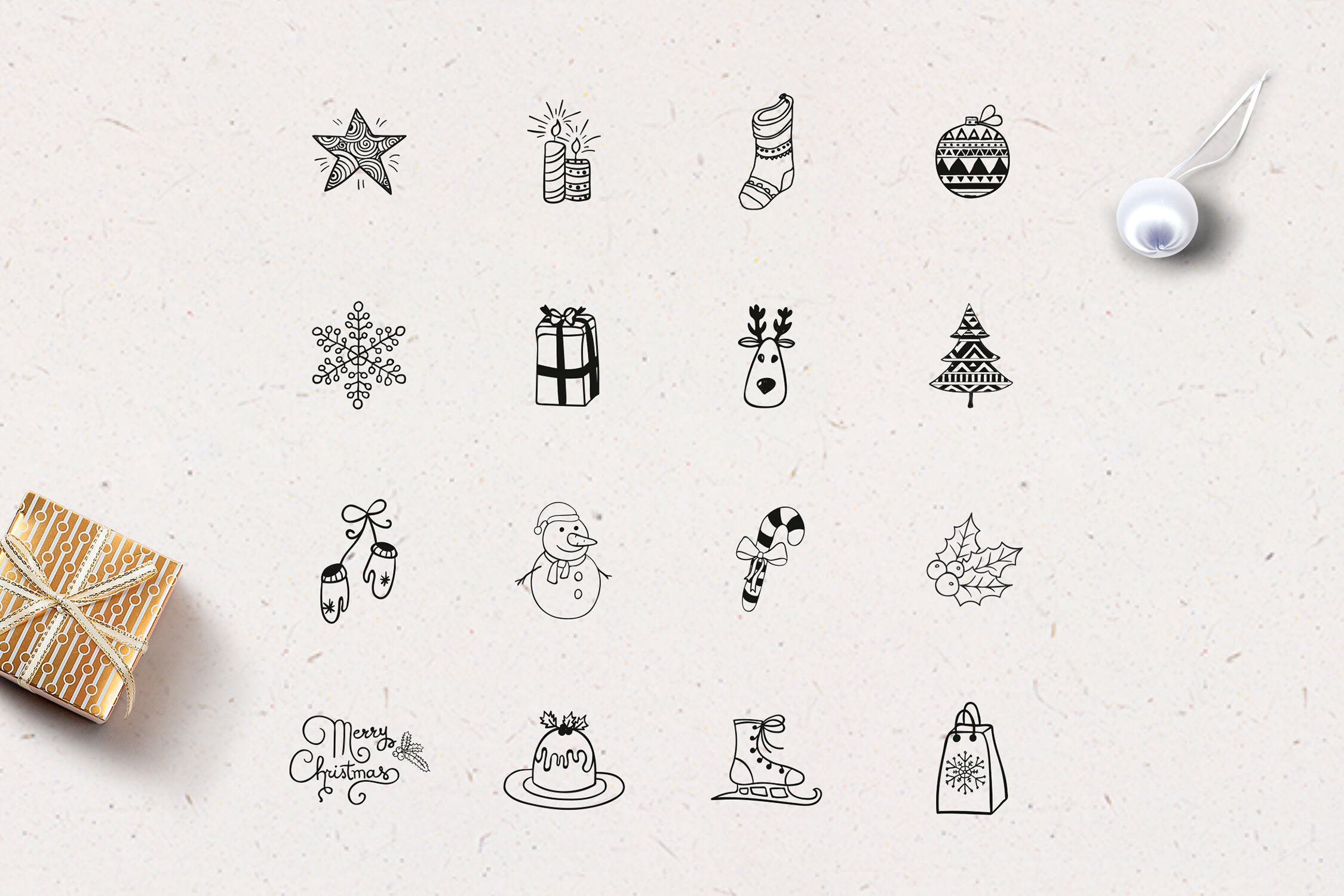 Xmas Instagram Highlight Story Icons By O L Y A Thehungryjpeg Com
