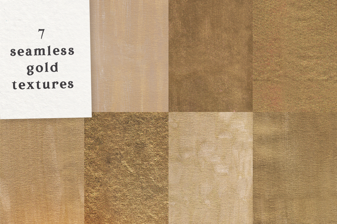 Watercolor And Gold Textures Pack By Ana S Fonts Thehungryjpeg Com