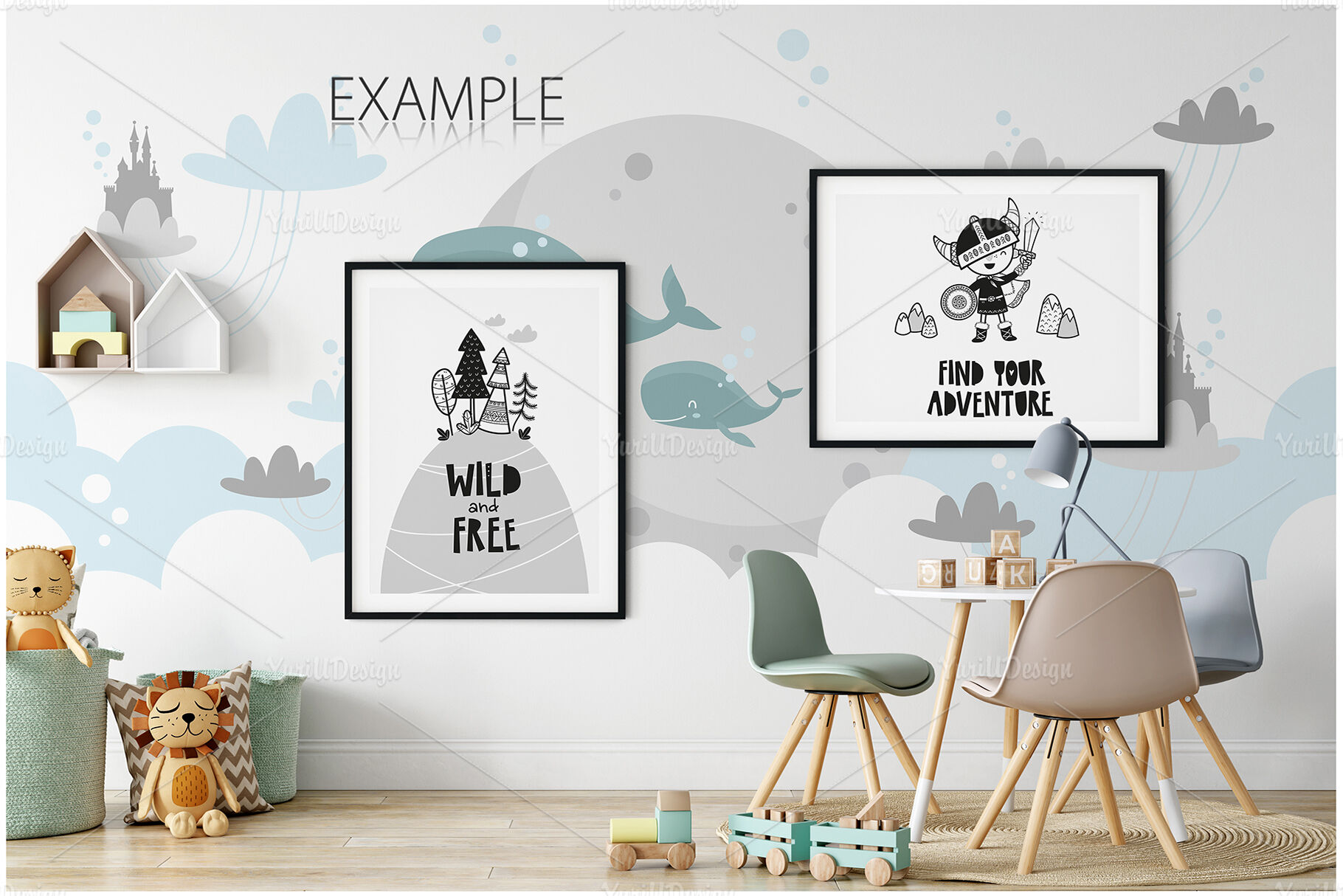 Download Wall Sign Mockup Psd Yellowimages